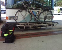 RIPTA bus and bike 20120807