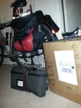 bike bag and bounce box