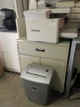 printer and shredder