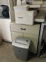 printer and shredder
