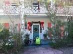 The Old Carrabelle Hotel at Christmas