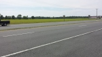 The Delmarva Peninsula is agricultural and the roads are broad and smooth.