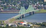 New Brunswick lies beyond the bridge