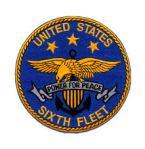 Sixth Fleet Badge