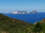 Palmarola, west of Ponza
