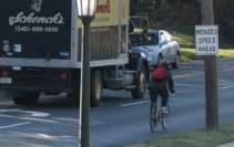 2018 biker in traffic