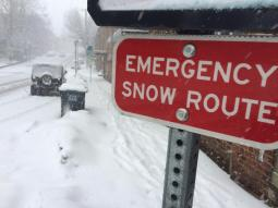 2018-emergency snow route