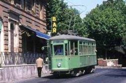 tram a Roma